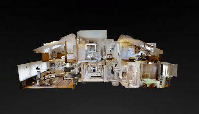 Özdericiler Çatı Dubleks – CB ART Gayrimenkul 3D Model