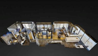 Levent Loft Bahçe – VAA Gayrimenkul 3D Model